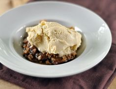 Apple Croustades with Brown Sugar–Bourbon Ice Cream | Recipe | Ice ...