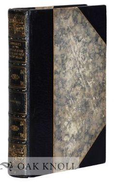 ANNALES DE LA TYPOGRAPHIE NEERLANDAISE AU XVE SIECLE. WITH FOUR SUPPLEMENTS. M.-F.-A.-G Campbell.