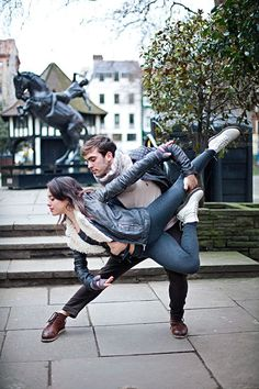 GOALS: Engagement Photography//Dancers Among Us