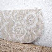 flower #handmade #wedding #bag #clutch