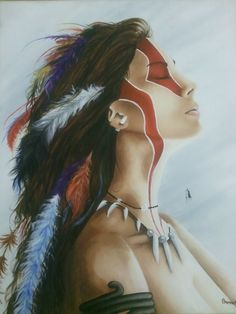 'Native Girl' by Brenna Mullally for the @CreativeCover Contest