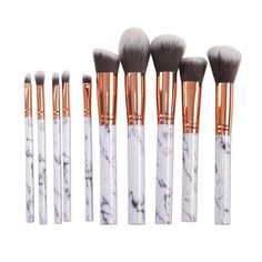 Urban Decay Other - LAST ONE SALE Marble makeup brush set 10 piece