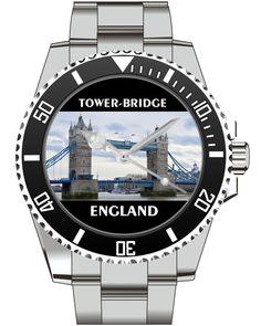 Tower Bridge England - KIESENBERG ® Uhr 2525 von UHR63 auf Etsy