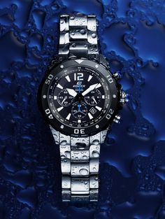 0410fcbdf9c0 Edifice Unveils Solar Powered Dive Collection at Baselworld. Reloj Táctico