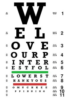 a592aca6 40 Best Eye Charts images | Eye chart, Eye pattern, Shop windows