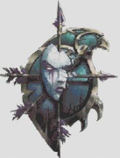 World Of Warcraft Inspired Crests  Horde  Undead by StitchedPixels