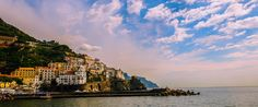 Amalfi on the Amalfi Coast. More Amalfi to discover at http://www.venice-italy-veneto.com/best-beaches-near-amalfi.html