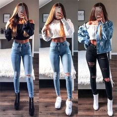 Fashion Cute Outfits + Cute Summer Outfits Pics with Women's Clothing Online England before Cute Casual Outfits To Impress A Guy; Cute Casual Outfits, Simple Outfits, Stylish Outfits, Cute Outfits With Jeans, Jean Outfits, Casual Dresses, Teen Fashion Outfits, Outfits For Teens, Style Fashion