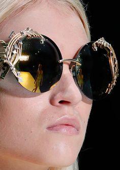 Sunglasses - Roberto Cavalli Spring 2013 http://VIPsAccess.com #Twoosh