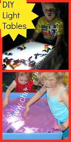 Our DIY Light Tables - Child Central Station