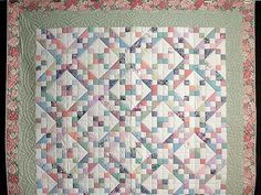 jacob's ladder quilt | Pastel Jacobs Ladder Quilt Photo 2