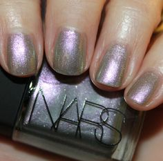 NARS Disco Inferno is a new limited edition polish in their spring 2013 collection. Disco Inferno in the bottle looks to be a shimmery duochrome showing Nars Nail Polish, Cute Nail Polish, Nail Polish Colors, Great Nails, Fabulous Nails, Cute Nails, Hair And Nails, My Nails, Love My Makeup