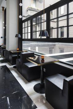Senato Hotel, Milan • Interiors: Alessandro Bianchi Architetto
