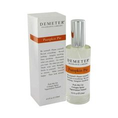 Demeter Pumpkin Pie - Cologne For Women 4 Oz Spray