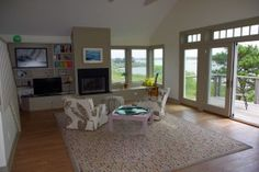 #MarthasVineyard #RealEstate Living Room 300x200 Tisbury Marketplace Home/Office Opportunity - Don't miss an exciting opportunity to own the most unique pied-a-terre on the Vineyard. Walking distance from the ferry, shops and restaurants, this 1600 square foot, 3 bedroom condo is the pinnacle of a new, Energy Star certified building at Martha's Vineyard's Tisbury Marketplace.