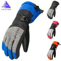 Get VECTOR Women Men Ski Gloves Snowboard Gloves Snowmobile Motorcycle Riding Winter Gloves Windproof Waterproof Unisex Snow Gloves Ski Et Snowboard, Snowboard Gloves, Hand Warmer Gloves, Snowmobile Gloves, Bags Travel, Ski Gear, Mens Gloves, Sports Women, Skiing