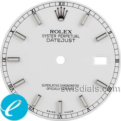 Men's Rolex White Stick Hour Marker Dial SS for a men's Rolex Datejust watch. Men's Rolex, Rolex Datejust, Rolex Watches, Apple Watch Custom Faces, Apple Watch Faces, Photographing Kids, Clocks, Markers, Luxury