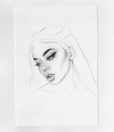 Trilling Exercises To Get Better At Drawing Ideas. Astounding Exercises To Get Better At Drawing Ideas. Pencil Drawing Images, Drawing Faces, Art Drawings Sketches, Cool Drawings, Drawing People, Face Art, Art Inspo, Amazing Art, Videos