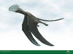 Paleoarte por Vitor Silva. Harpactognathus gentryii