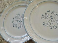Vintage Stoneware Covington Avondale Salad  Plates by ChinaGalore