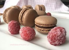Macaroons, Baked Goods, Sweet Recipes, Almond, Muffins, Cheesecake, Food And Drink, Sweets, Lunch