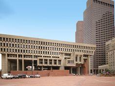 Modern Buildings, Modern Architecture, Boston City Hall, Brutalist Design, Walter Gropius, Design Competitions, Le Corbusier, New City, Facade