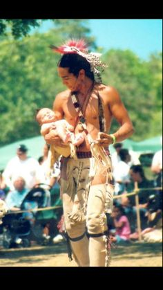 Native American Father - Beautiful