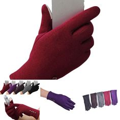 Back To Search Resultsapparel Accessories Discreet Womens Thickened Warm Keeping Touch Screen Gloves Winter Fashionable Suede Fabric Coral Velvet Brushed Mittens