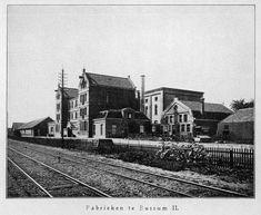 De nieuwe fabriek van 1897 [foto uit Bensdorp 1840-1940].