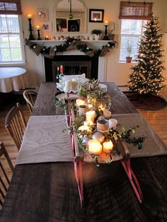sled centerpiece, I will do something similar this year for christmas