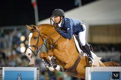 "showjumpingpassion: "" Kent Farrington & Creedance, 10-year-old Dutch Warmblood (Lord Z x Camantha) $130,000 Horseware Ireland Grand Prix CSI3* Source: Noelle Floyd """