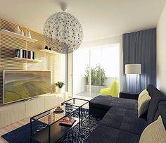 Interiér obývacia izba  Muškátová - optimálne podmienky pre kvalitný život
