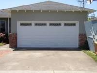 Half brick garage