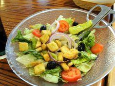 olive gardens salad .... :)))))