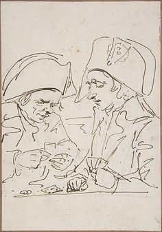 Baron Dominique Vivant Denon, (French, 1747–1825). Replacements in the Parisian Guard Playing Cards in 1795, ca.1795. The Metropolitan Museum of Art, New York. Rogers Fund, 1962 (62.119.7b) #paris