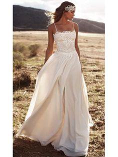 Venkovní šifon Svatební Svatební šaty
