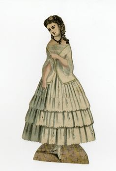 86.3116: paper doll | Paper Dolls | Dolls | National Museum of Play Online Collections | The Strong