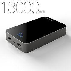 kayo maxtar power pack 13000mah luxury business portable power bank high capacity portable power source dual