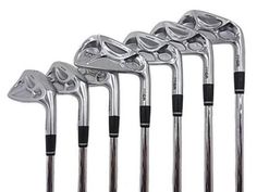 PRGR TR500 Iron set : I love this PRGR's Irons though it's not easy for me to use.