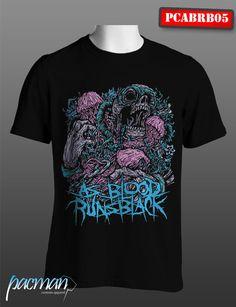 Kaos As Blood Runs Black (PCABRB005) CP : 083849642779 Band Merch, Running, Music Stuff, Blood, Mens Tops, T Shirt, Fashion, Supreme T Shirt, Moda