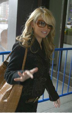 Jessica Simpson...missing my bangs...needs them back...