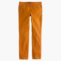 """If there's one thing we know, it's a killer pair of chinos. These are somewhere between slim and slouchy and are washed for a lived-in look. <ul><li>Sits lower on hip.</li><li>Easy through hip and thigh with a slim, straight leg.</li><li>28"""" inseam, but we like it rolled to 26"""".</li><li>Cotton.</li><li>Machine wash.</li><li>Import.</li></ul>"""