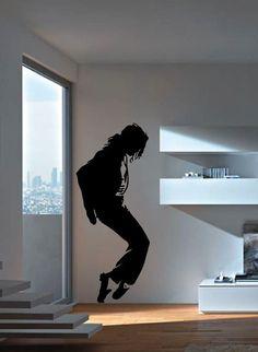 Michael Jackson Moonwalk Vinyl Decal by DecalGeex on Etsy, $6.99