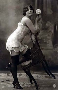 Edwardian Corset c. 1912