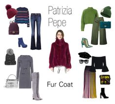 """""""Pepe Fur Coat"""" by lamicinna on Polyvore featuring мода, Isabel Marant, 7 For All Mankind, Alexis, Ted Baker, Marni, Isa Arfen, Tory Burch, Oscar Tiye и Yazbukey"""