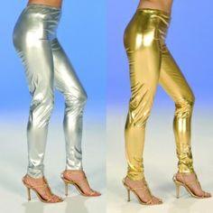 Leggins gold oder silber