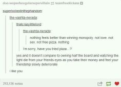I think whoever gets through a whole game of monopoly deserves an award