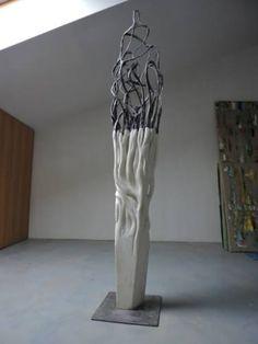 "Saatchi Art Artist Michele Rizzi; Sculpture, """"Memory of the tree (organic)"""" #art"