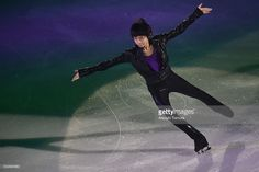Koshiro Shimada of Japan performs his routine in the exhibition on the day four of the 2015 Japan Figure Skating Championships at the Makomanai Ice Arena on December 28, 2015 in Sapporo, Japan.