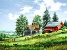 Fred Swan ~ Summer in Vermont